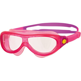 Zoggs Phantom Mask Kids Yellow/Pink/Clear
